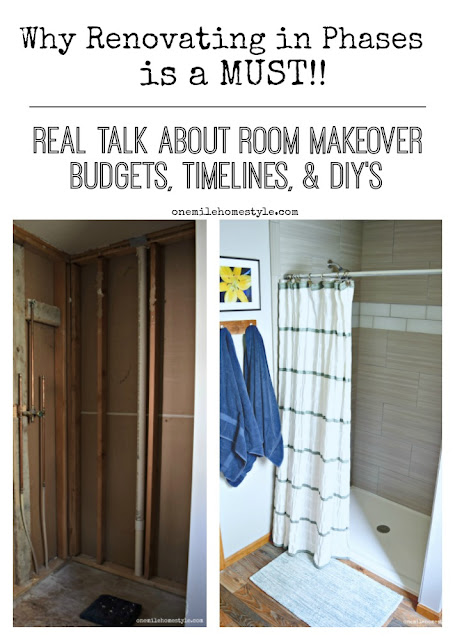 Why Renovating in Phases is a MUST!! Get the real scoop on how room makeovers really happen!