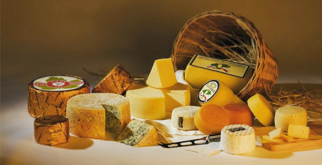 O queijo é o camaleão do mundo da comida!