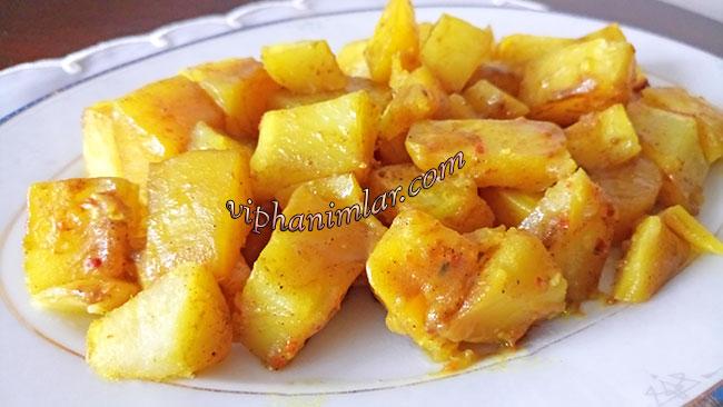 Fırın Poşetinde Baharatlı Patates Tarifi - www.viphanimlar.com