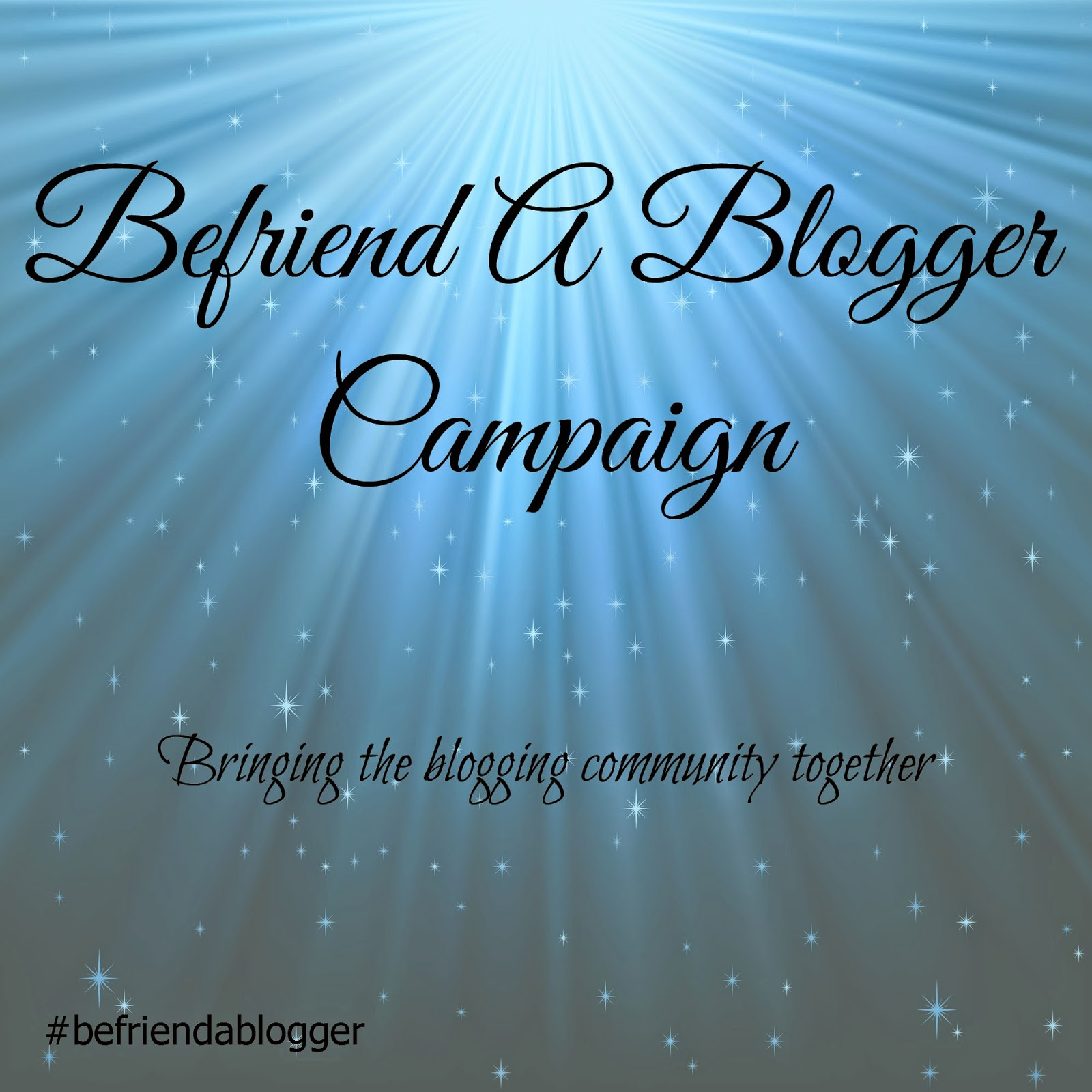 befriend a blogger, #befriendablogger
