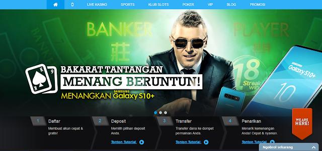 Situs Live Casino Resmi Withdraw Termurah di 9clubasia