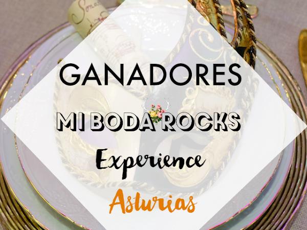 Ganadores Mi Boda Rocks Experience Asturias 2016