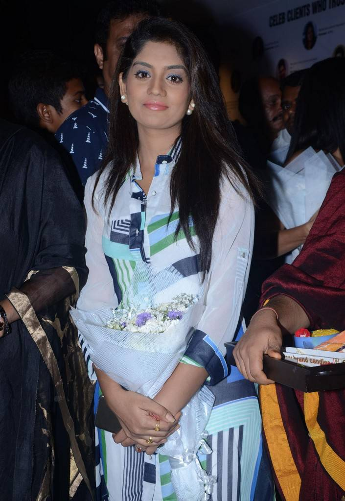 Telugu Tv Actress Karuna Stills In White Dress