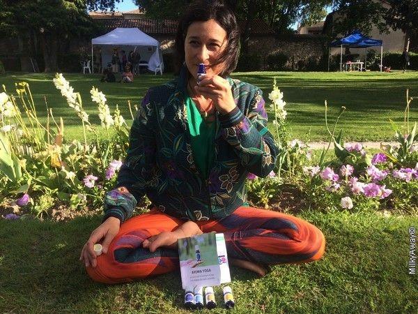 Conférence Aroma Yoga by Nathalie Challulau
