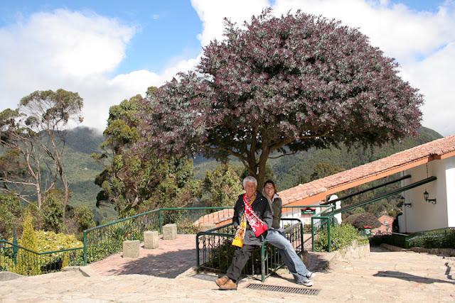 arriba en Monserrate Bogota