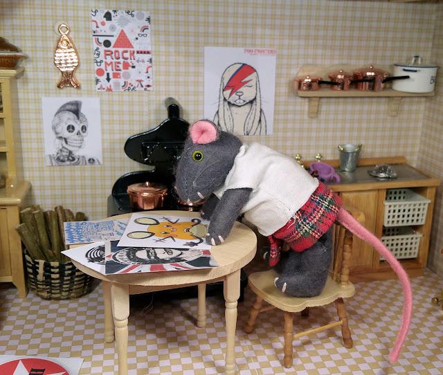 souris mouse musique punk decoration punkmusic babymouse bebe souris