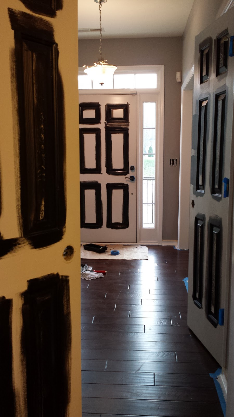focal point styling how to paint interior doors black update rh nyclq focalpoint blogspot com  best way to paint interior doors black