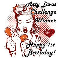 Gagnante Challenge Happy Birthday Arty Divas!