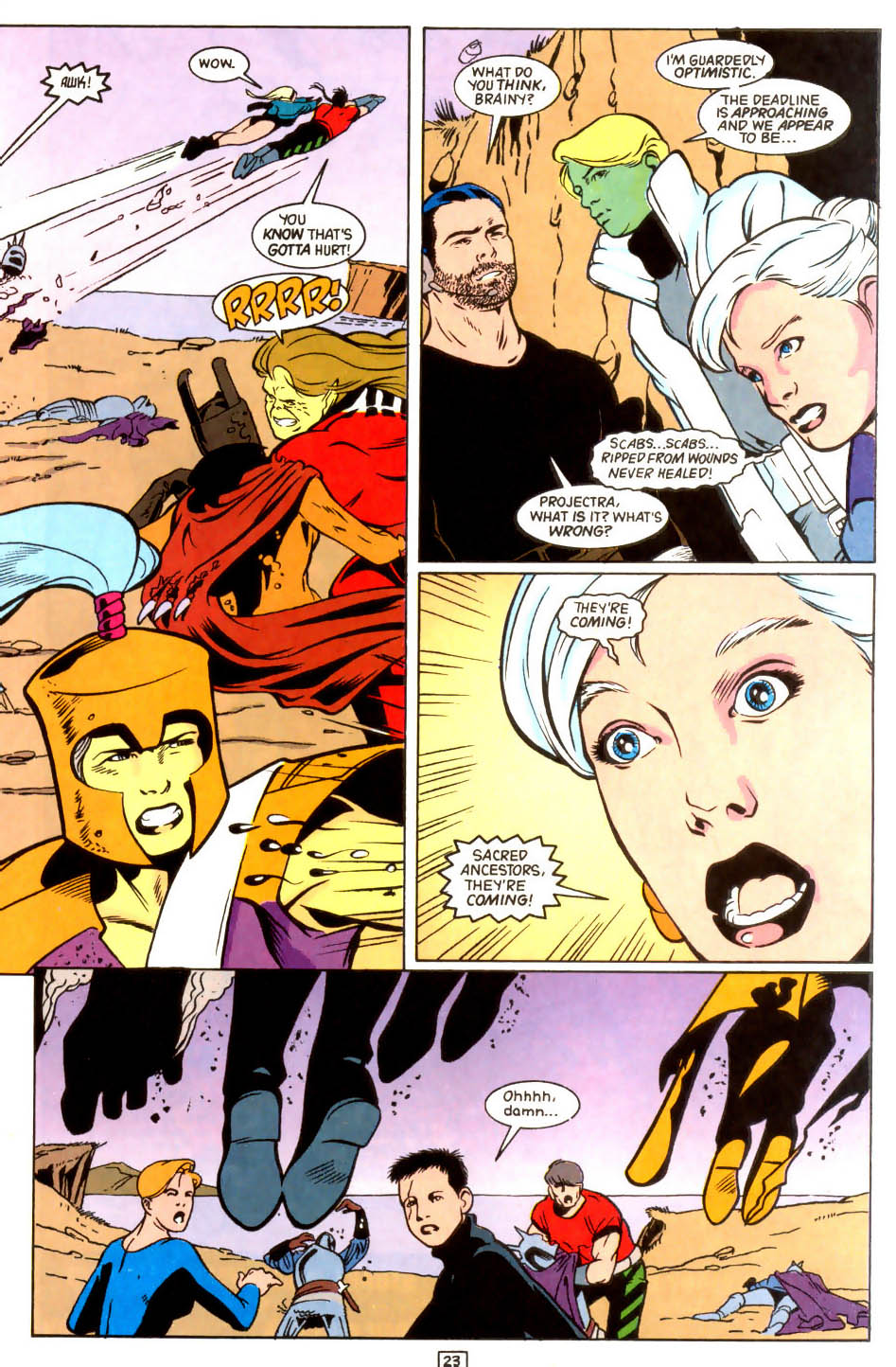 Legion of Super-Heroes (1989) 45 Page 22