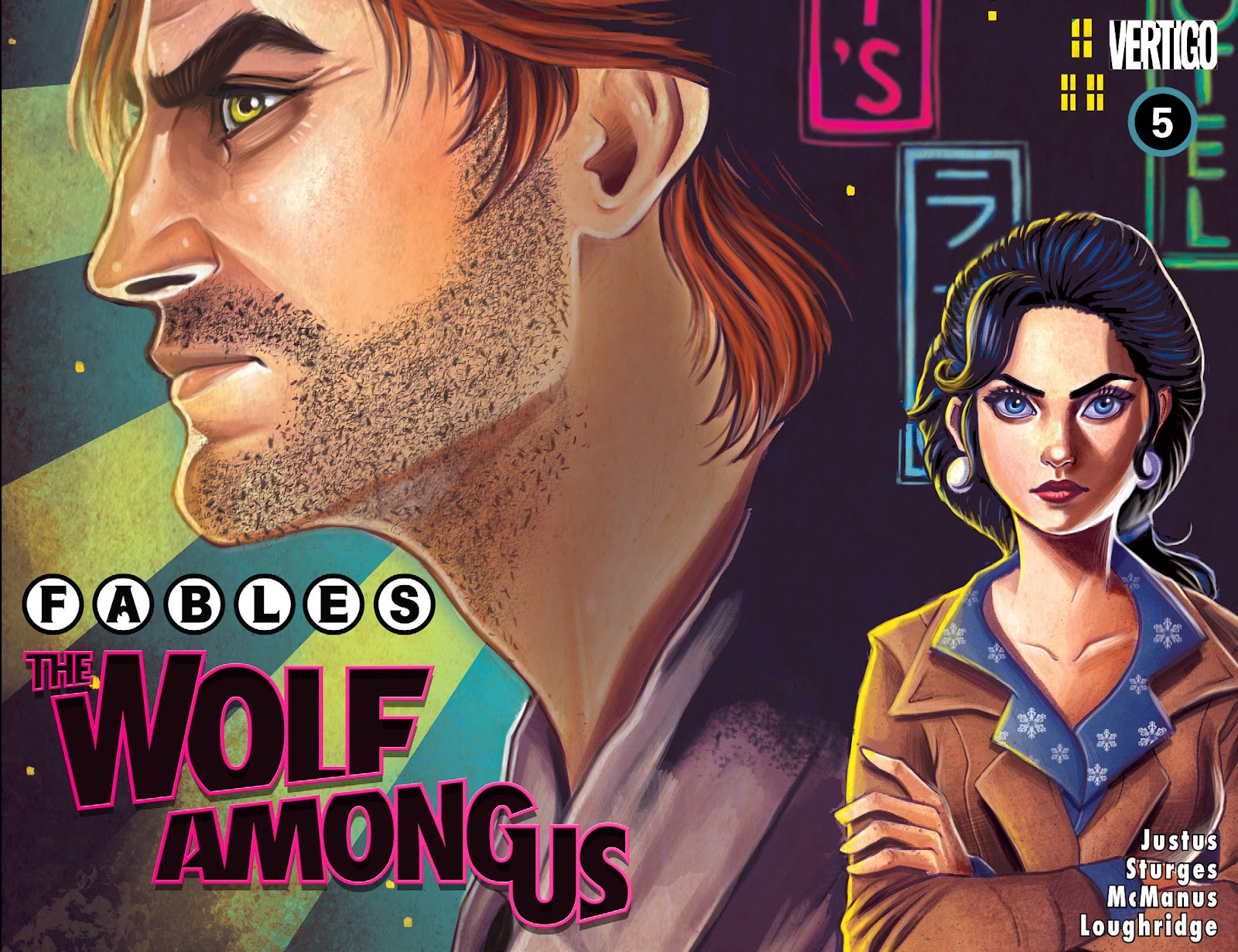 Fables - The Wolf Among Us issue 5 - Page 1