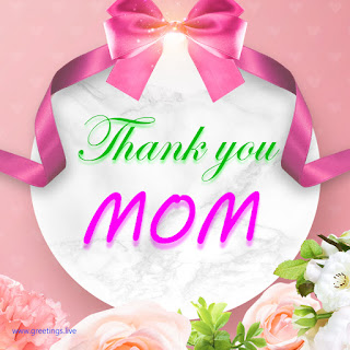 thank you mom mothers day greetings image