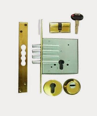πρόσθετη κλειδαριά ασφαλείας securemme με κύλινδρο