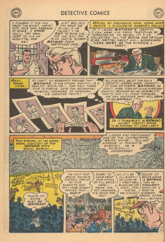 Detective Comics (1937) 199 Page 8