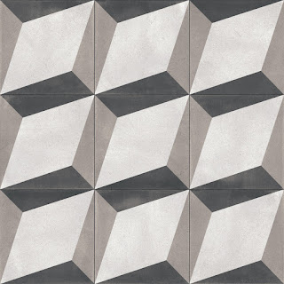 Porcelain stoneware floor tiles BONDI BLOCKS NATURAL