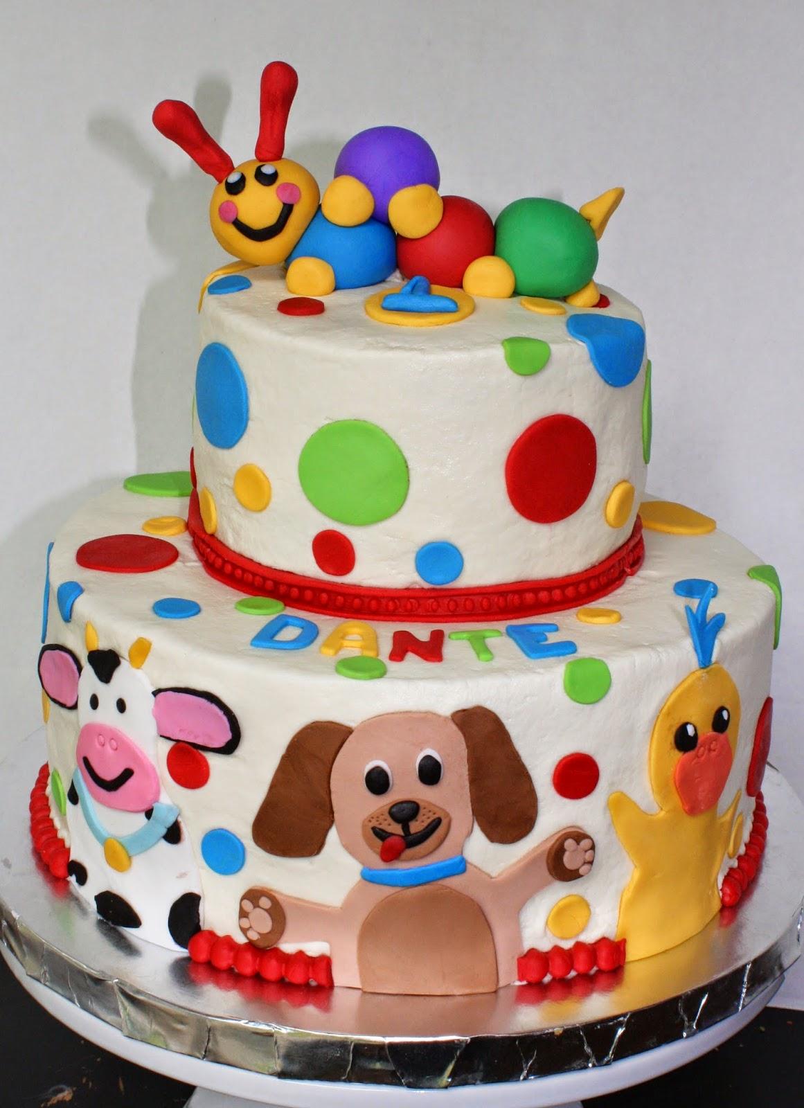 Kake Baby Einstein Cake