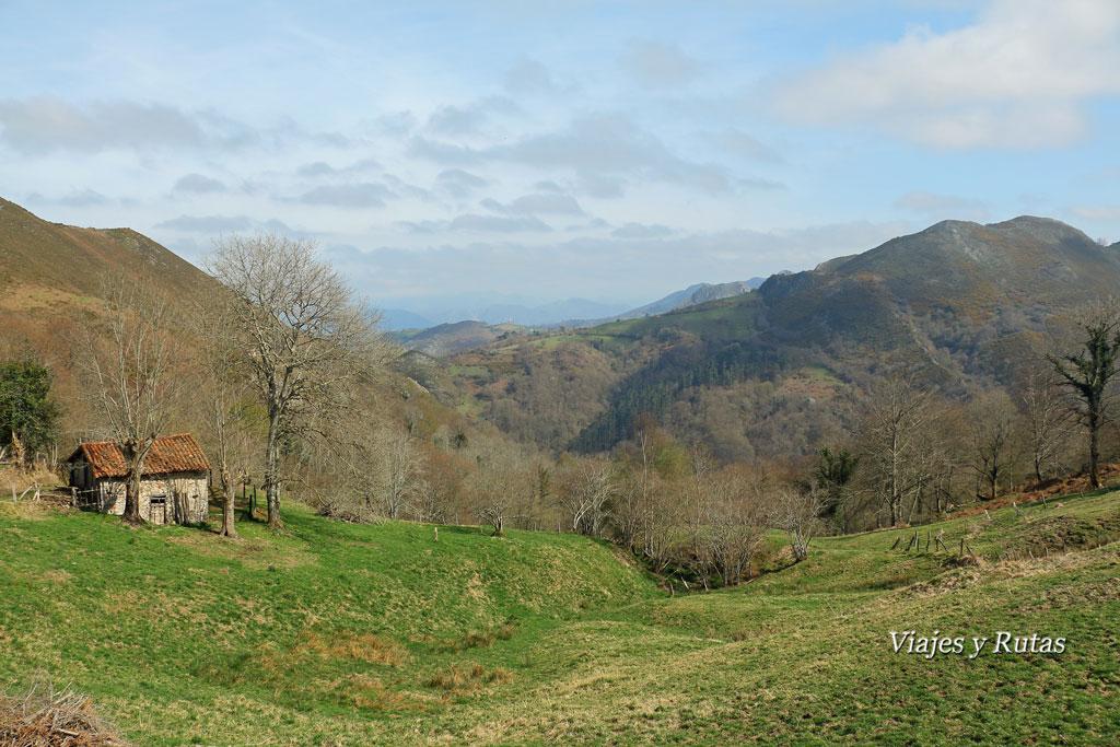 Ruta del Chorrón, Asturias