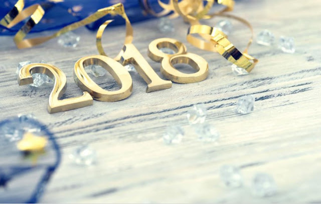 New year 2018 free images