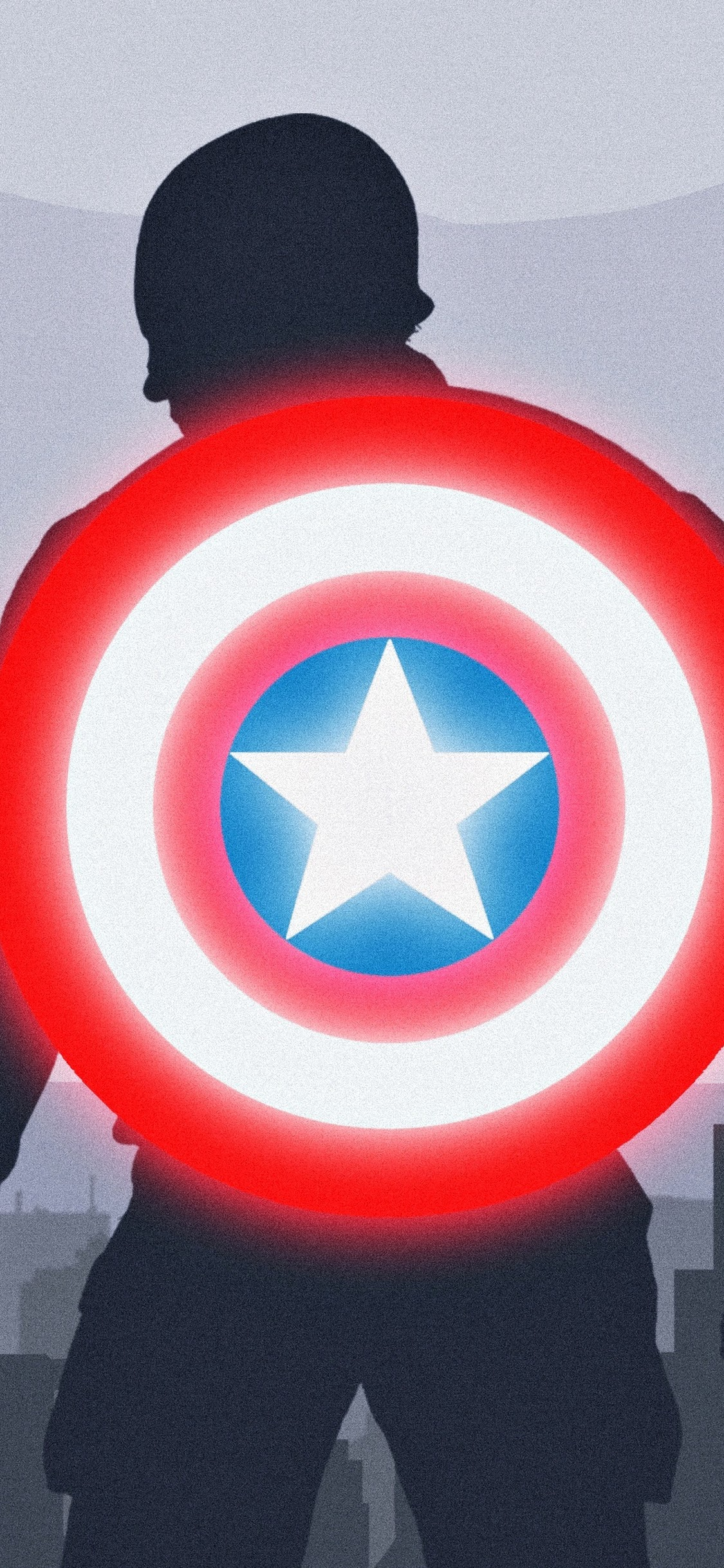 Captain America Shield Minimalist 4k 24 Wallpaper