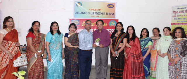 Alliance Club Mother Teresa organized the Diabetes Test Camp in Community Center Sector-17