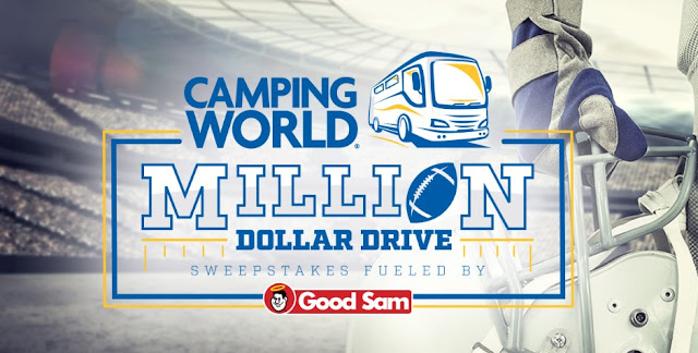 Camping World Million Dollar Drive Sweepstakes