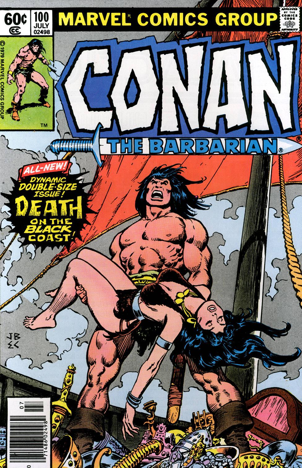 Conan the Barbarian (1970) 100 Page 1