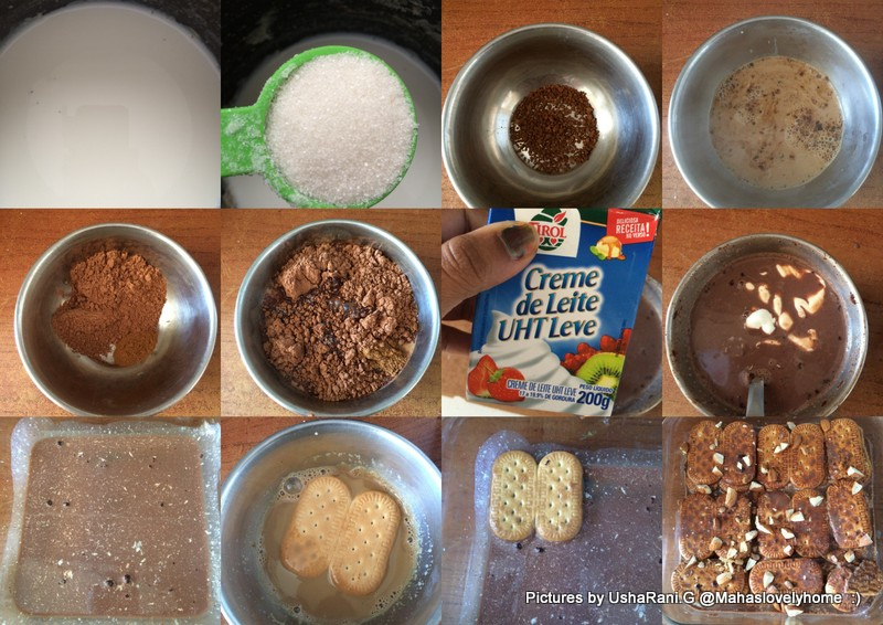 Biscuit Coffee Pudding Recipe