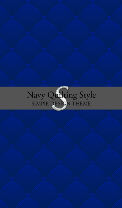 Navy Quilting Style