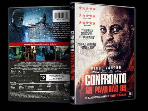 Capa DVD Confronto no Pavilhão 99 [Exclusiva]