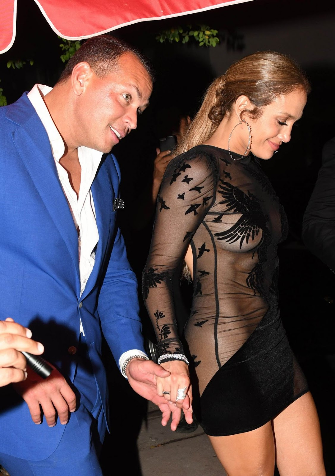 Jennifer Lopez is nearly nude for 48th birthday celebrations