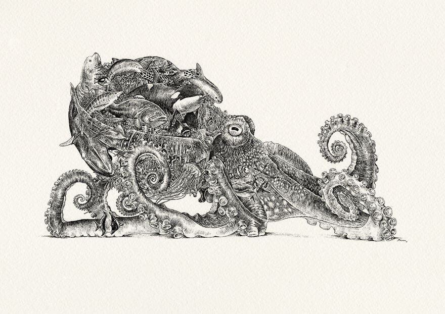 08-Octopus-Oceanic-Nathan-Ferlazzo-www-designstack-co