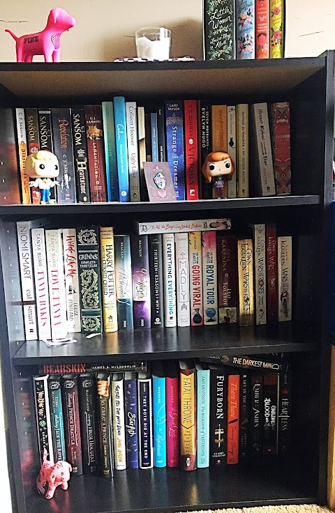 Book Shelf Tour 2018 | BLOGTOBER 🍂☕🎃