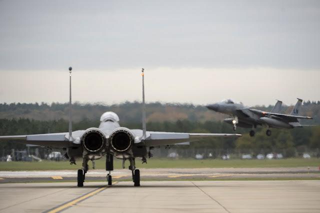 USAF F-15 NATO mission Iceland
