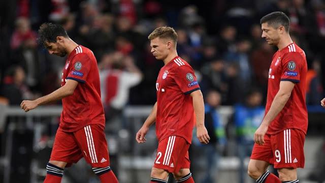 Beyern Munich vs Monchengladbach