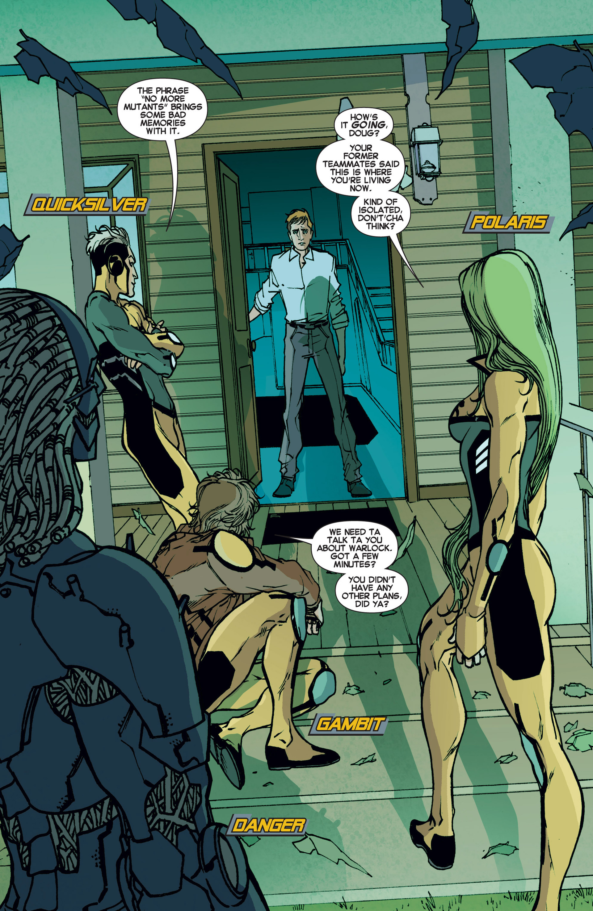 Read online All-New X-Factor comic -  Issue #6 - 5