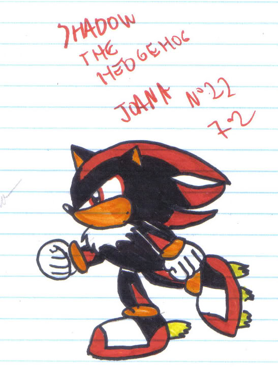 Candi's archive, old drawings and old junk: 2009 - Sonic phase