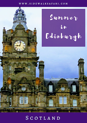 Things to do in Summer in Edinburgh Scotland