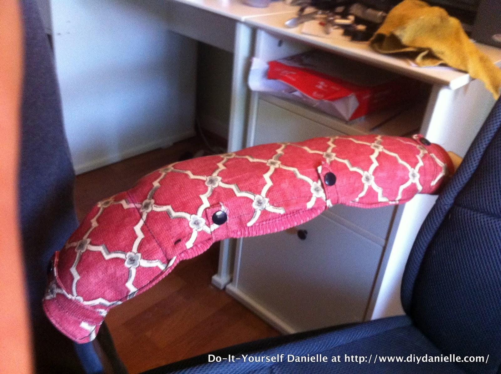 Diy Chair Arm Covers Diy Danielle