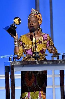 Angelique Kidjo Wins Gramys