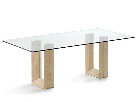 M nica dise os - Bases para mesas de vidrio comedor ...