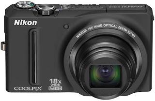 Câmera digital - Nikon Coolpix S9100