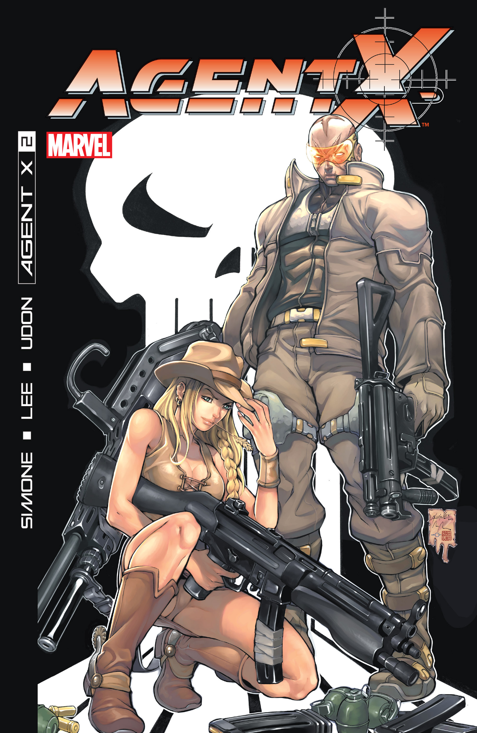 Read online Agent X comic -  Issue #2 - 1