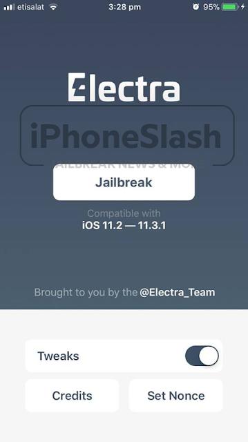 How to jailbreak iOS 11.2 - 11.3.1 using Electra jailbreak