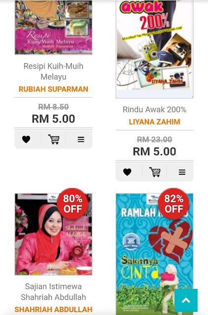 BUKU KARANGKRAF MURAH RM1 SEBUAH DATANG LAGI !