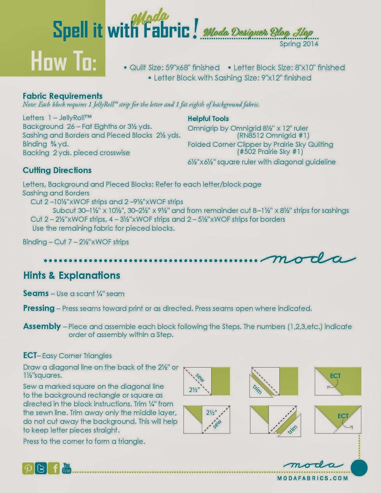 Spell it with Fabric blog hop – modafabrics