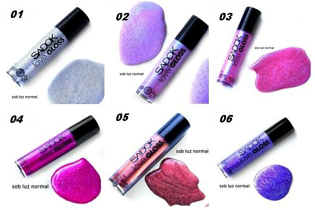 Coleção Love gloss 2