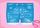 DIY Summer Short Jeans