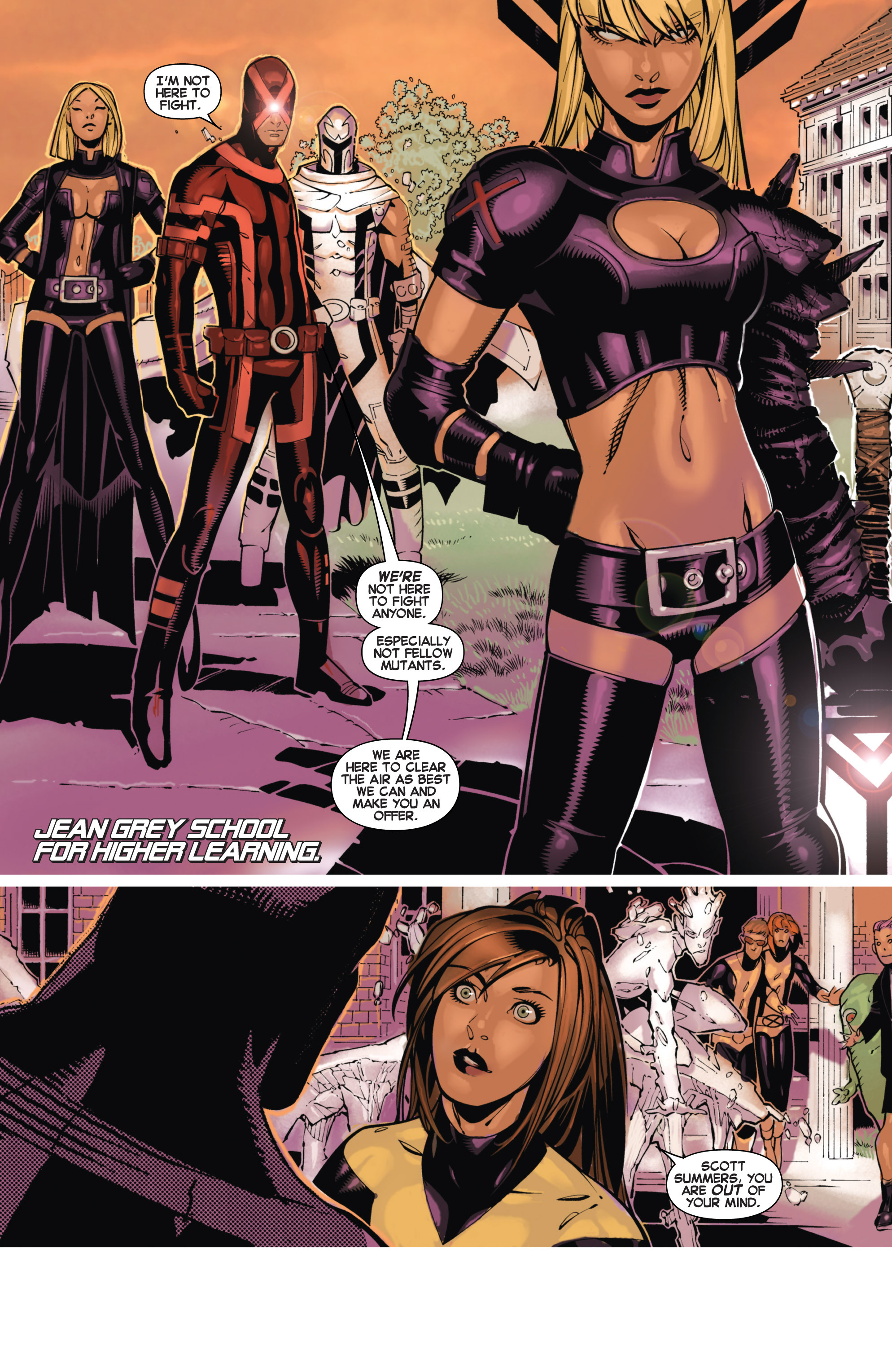 Read online Uncanny X-Men (2013) comic -  Issue # _TPB 1 - Revolution - 67