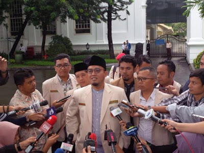 Temui Presiden, Pemuda Muhammadiyah minta non aktifkan terdakwa Ahok