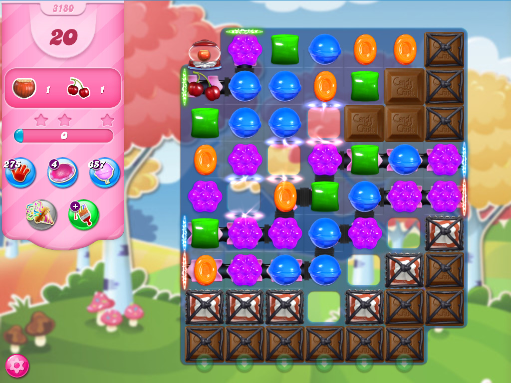 Candy Crush Saga level 3180