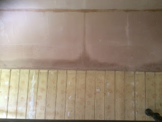 Plaster and tongue and groove